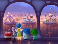 [Poster for Inside Out with Inside Out, Pete Docter]