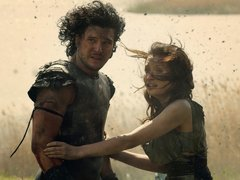 [Poster for Pompeii with Pompeii, Paul W.S. Anderson, Kit Harington, Emily Browning (I), Kiefer Sutherland]