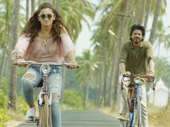 [Poster for Dear Zindagi with Dear Zindagi, Alia Bhatt, Shah Rukh Khan, Gauri Shinde]