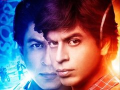 [Poster for Fan with Fan, Shah Rukh Khan, Vaani Kapoor, Ileana D'Cruz, Maneesh Sharma]