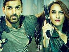[Poster for Force 2 with Force 2, Johnny Ahn, Sonakshi Sinha, Abhinay Deo]