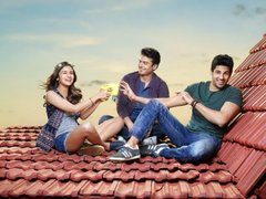 [Poster for Kapoor & Sons with Kapoor & Sons, Alia Bhatt, Siddharth Malhotra, Fawad Khan, Shakun Batra]